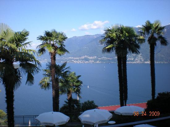 Ronco sopra Ascona, Szwajcaria: View of Lago Maggiore