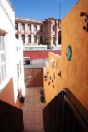 El Hogar de Carmelita: view from front door