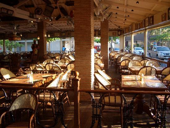 Phileas Fogg: Restaurant area