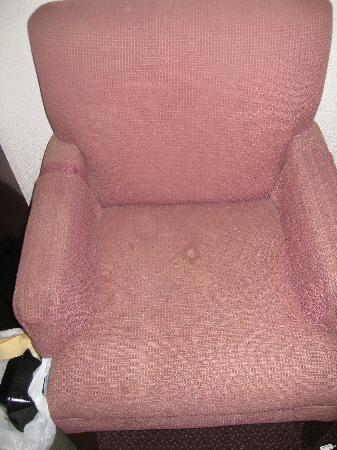 Corbin Knights Inn: The chair