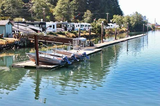 McKinley's Marina & RV Park: Marina with boat rentals & launch ramp