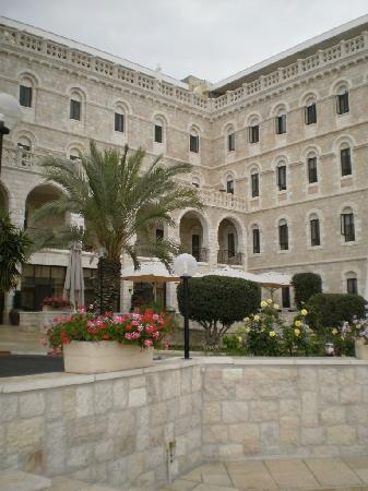 Notre Dame Guest House: North wing with terace and restaurant