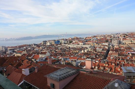 Casa Costa do Castelo: view from our room