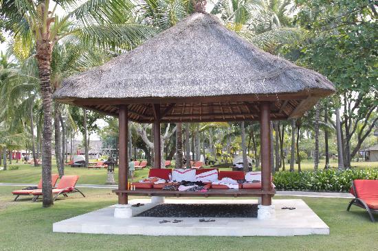 Club Med Bali: jardins du club
