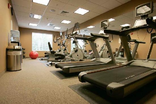 Fairfield Inn & Suites South Boston: Fitness Rom