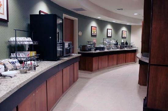 Fairfield Inn & Suites South Boston: Complimentary Continental Breakfast