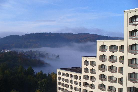 Friedrichroda, Γερμανία: Blick vom Balkon
