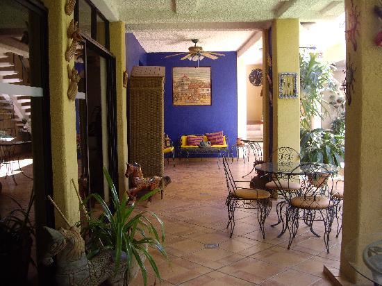 Hotel La Posada Del Angel : Courtyard La Posada del Angel