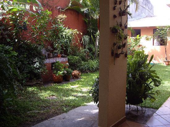 Hotel La Posada Del Angel : Coutyard la Posada del Angel2