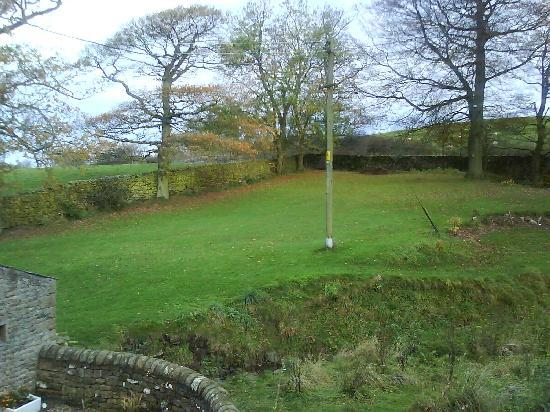 Gale Green Cottage: View from bedroom window