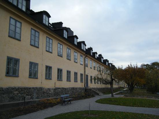Hotel Skeppsholmen: it was an old navy barracks.