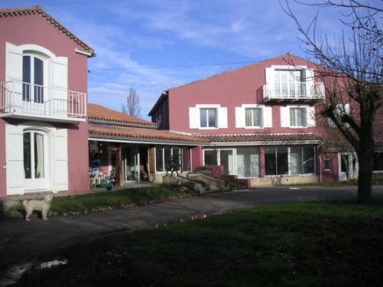 Leran, Francia: Façade après travaux