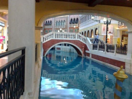 Lindo centro comercial, The Venetian Hotel