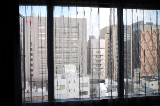 Shibuya Granbell Hotel: View from upstairs, premier suite