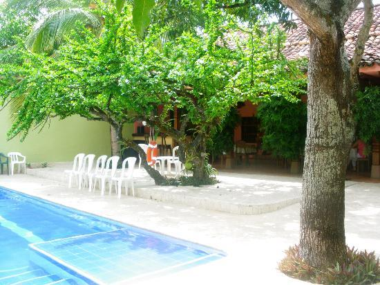 Hotel Casa Tenerife: Piscina junto a comedor