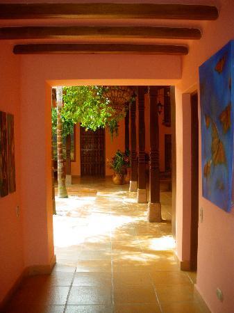 Hotel Casa Tenerife: Patio interior