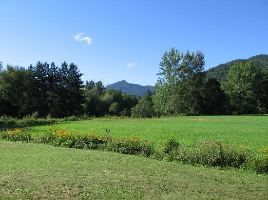 Mountain Meadows: View of Mountain from their back yard