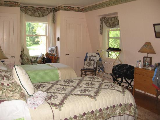 Mountain Meadows: One of the bedrooms