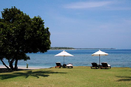 The Oberoi, Lombok : beach