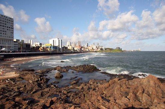 Praia do Porto da Barra : Porto da Barra, Bahia, Brasile
