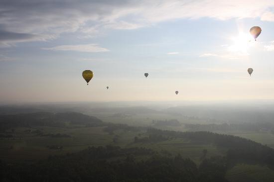 Birstonas, Lithuania: Hot air balloon festival in Birštonas