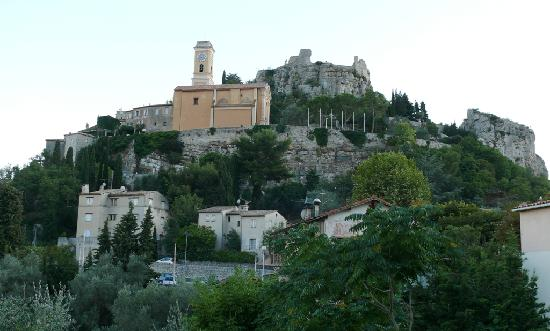 Hotel Saint Michel : The medieval town of Eze