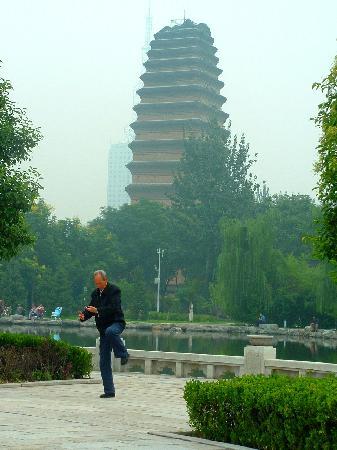Grand Mercure Xian on Renmin Square: Little Wild Goose Pagoda, Xian