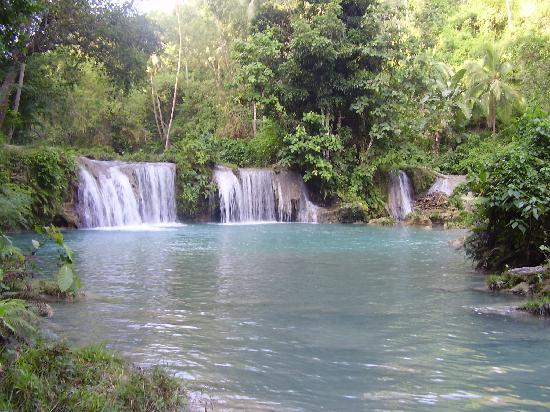 Cambugahay Falls, Siquijor Island, Visayas, Philippines