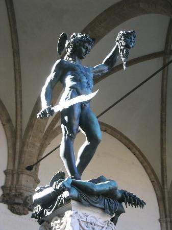 Perseus With The Head Of Medusa Picture Of Florence