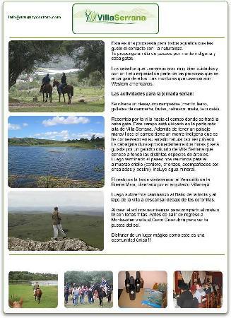 Maldonado, Uruguay: Cabalgatas en Villa Serrana