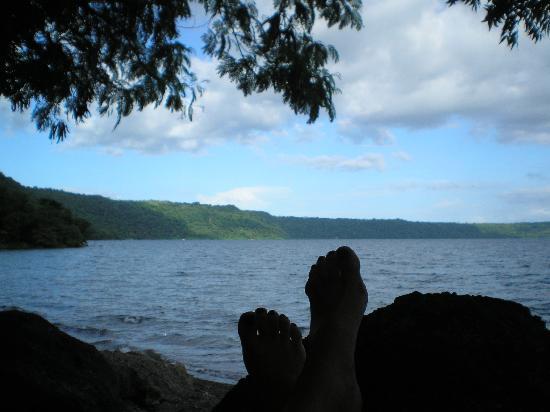 Casa Silas B & B: Relaxing at Laguna de Apoyo