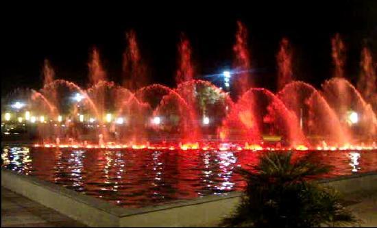 H10 Mediterranean Village: salou fountains