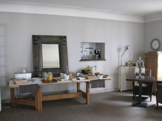 Vanillé Hôtel : breakfast room