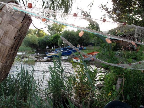 Gradoli, Italie : Vista dall'Oasi del Pescatore