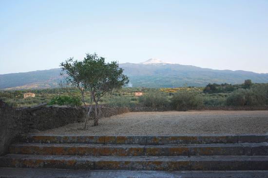 Hotel Feudo Vagliasindi: la vista sull'Etna