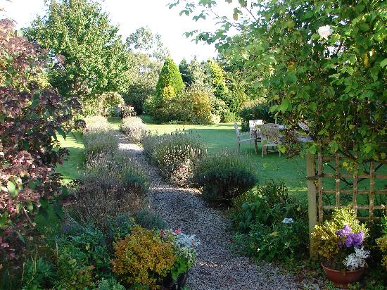 The Old House: Part of the lovely garden area