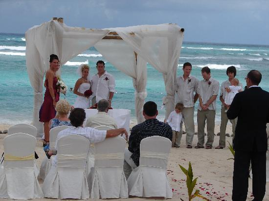 wedding on the beach Picture of Majestic Colonial Punta Cana