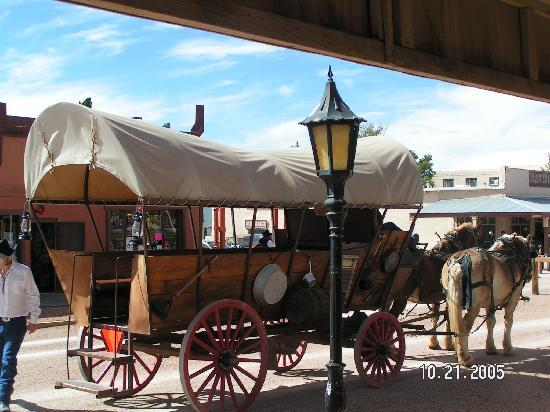 Tombstone Bordello: 1800's motor home