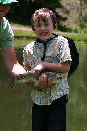 Elk Mountain Ranch: Fishing with dad