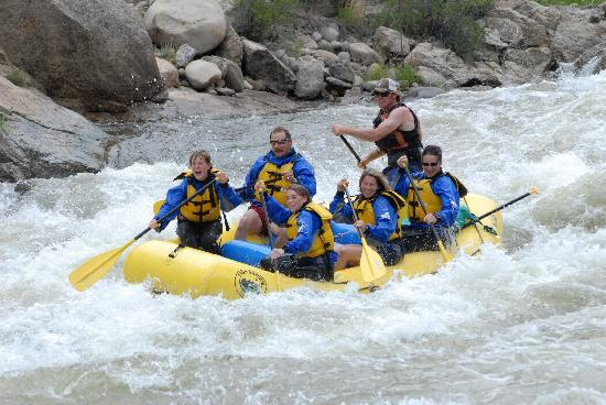 Elk Mountain Ranch: Raft the Arkansas River