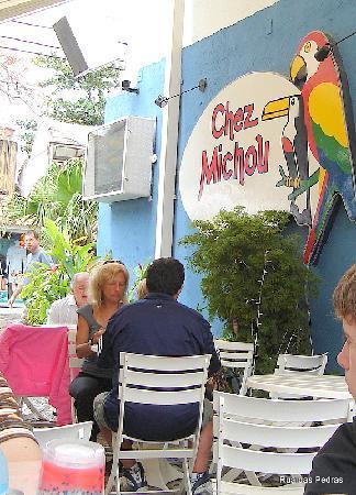 Rua das Pedras: La crepería Chez Michou, en la Rúa das Pedras