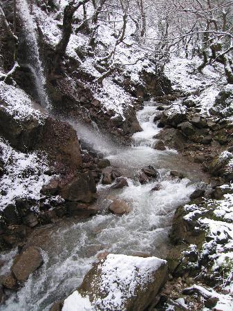 snow in Mouzaki