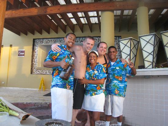 "Dreams La Romana Resort & Spa : Pool bar staff! Try JJ's special, the ""Cahmillione"" I could never say it...he just knew what I w"