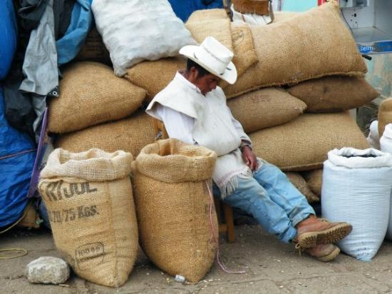 siesta a San Juan Chamula
