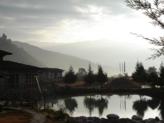 Sunrise in Paro.. will never g...