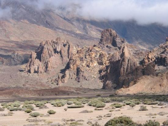 Santiago del Teide Spain  City new picture : Santiago del Teide Photo: Santiago del Teide, SpainParque National del ...