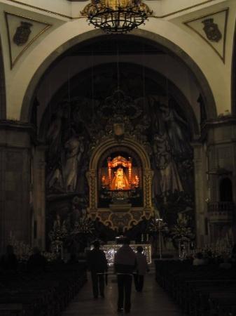 Candelaria, Spain Basiliek van de Virgin de Candalaria