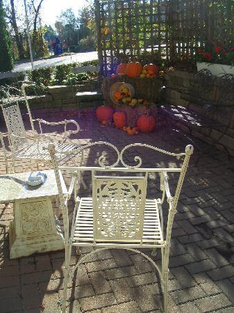 Harbour House Hotel: outdoor patio