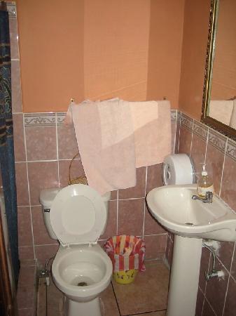 Hotel Maya Copan: BathRoom