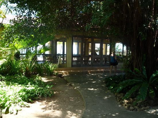 Sunset Beach Resort: Closing up to the breakfast hall